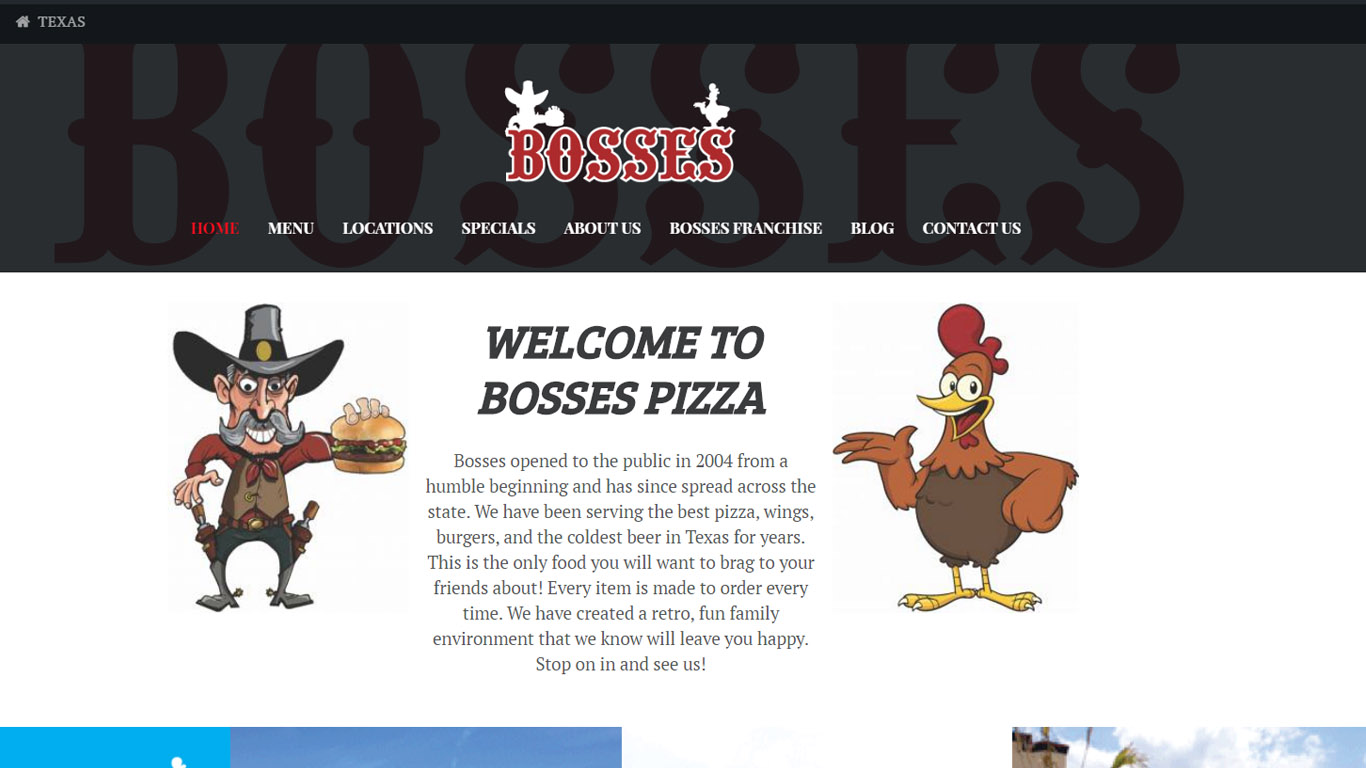 Bosses pizza coupon north richland hills